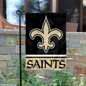 New Orleans Saints Garden Flag and Yard Banner