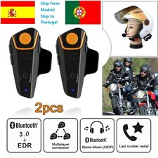 Moto impermeable motocicleta intercomunicador Bluetooth BT-S2 BT 1000M IPX7 ES