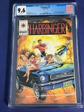 Harbinger #0 - 15 (minus #4) #1 CGC9.6 NM+ w/Coupon Lot of 15 (1992 Valiant)