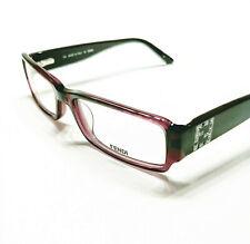 New Fendi Eyeglasses 934 plum 513 Authentic 53-16-135 w/case