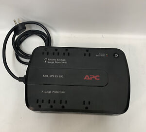APC BE550G Back-UPS ES 550 8-Outlet Battery Back-up Surge Protector