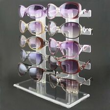 10Pairs Sunglasses Rack Sunglasses Glasses Display Show Eyeglasses Holder Stand