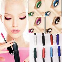 8 Colors Mascara Eyelash Long Lasting Curling Lengthening Eye Shadow Makeup Tool
