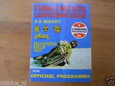 1978 ICESPEEDWAY,FINALE WK IJSSPEEDWAY ASSEN 4/5-3-1978,POSTER THIJS SHERBAKOV