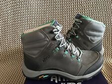 AHNU MONTARA III BOOT EVENT WILD DOVE LEATHER HIKING WOMENS BOOTS SIZE US 10 NEW