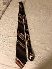 Richman Neckwear Necktie Tie Stripe Browns