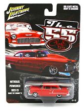 1:64 Johnny Lightning *THE '55 STREET OUTLAWS* Chuck Parker's 1955 Chevy DRAG