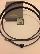 Mulberry Slim Double Wrap Belt in Black - Size S - BNWT - Brand New & Unused