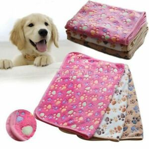Soft Warm Pet Fleece Blanket Bed Mat Pad Cover Cushion For Dog Cat Puppy Animal