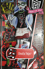 MONSTER HIGH GHOULIA YELPS - DEADFAST FASHION PACK - VERY RARE - NEW/SEALED