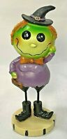 """Halloween Witch Spooky Sweet Figurine Fall Child Home Decor Transpac Resin 6""""H"""
