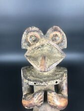 Cameroun MAMBILA. Rare et ancienne Statue à tête de grenouille