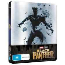 MARVEL Universe Black Panther Exclusive Steelbook Blu-ray BRAND NEW FREE POSTAGE