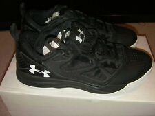 Under Armour Hombre Jet Baja Zapatos de baloncesto, Negro 8UK 41EU