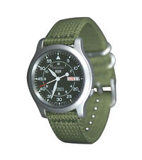 Seiko 5 Men's Military Dial Automatic Watch SNK805 Wristwatch