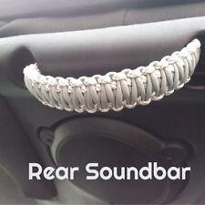 Paracord Grab Handles Sound-Bar or Head Rest Set Jeep Wrangle