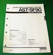 Original Yamaha AST-SF90 Service Manual
