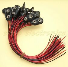 25x New PP3 9V Battery Connector Clip Snap on Clips