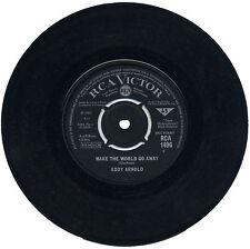 "EDDY ARNOLD  ""MAKE THE WORLD GO AWAY c/w THE EASY WAY""   60's  LISTEN!"