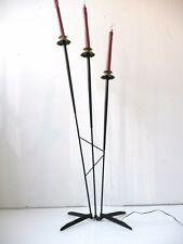 LAMPADAIRE A CHANDELLES 1950 VINTAGE DESIGN ANNEES 50 MID CENTURY MODERN 50's