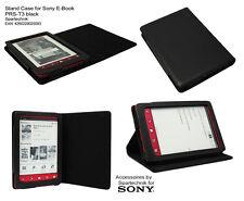 Etui pour Sony PRS-T3 sacoche de transport cuir synth. PRS T3 avec bâti - noir