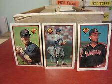 1989 and 1990 Bowman Baseball pick 40 card lot ex-nm