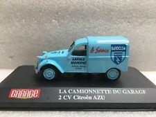 HACHETTE IXO NOREV La camionnette Du Garage Citroën 2 CV Azu 1/43