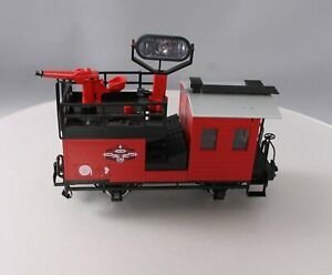 LGB 41490 Operating Searchlight Car- Metal Wheels EX