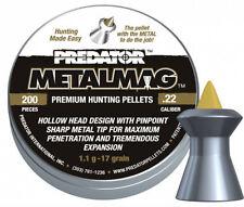 JSB METALMAG PREDATOR pointed PELLETS .22 5.5mm Balines Plombs Kugeln 200pcs