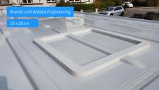 Adapterrahmen passend für Sprinter (L2 / L3) für Dachluke, Dachfenster 28x28 cm