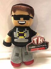 """NEW 2015 YouTube Tube Heroes SKY 7.5"""" Plush Toy New w/ Tag NWT- Free US Shipping"""