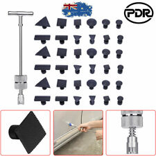 25pcs PDR Dent Puller Tabs Paintless Hail Removal Tools Slide Hammer Pulling Kit