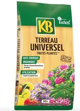 Terreau universel Toutes plantes 50L EGRAIS ORGANIQUE POTS PLEINE TERRE JARDIN F