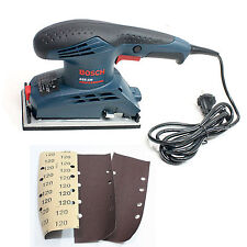 New Bosch GSS230 Professional 190W Orbital Sander 220V with 3pcs Sanding Sheets