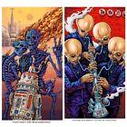 EMEK Stoned Wars: Series III set mini prints 6x9 /500 Droid Malfunction Cantina