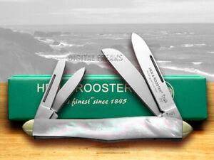 Hen & Rooster Whittler Knife Mother of Pearl Carbon Pocket Knives 234-MOP