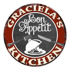 Cpbk-0622 Graciela'S Kitchen Bon Appetit Chic Tin Sign Decor Gift Ideas