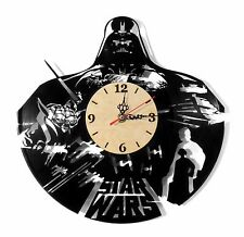"NEW Vinyl Record Wall Clock ""Star Wars Origin"", cool modern, decorative art ~12"""