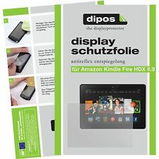 2x Amazon Kindle Fire HDX 8.9 Protector de Pantalla protectores mate