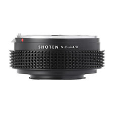 Shoten Lens Adapter for Nikon F D Ai Ais to Micro 4/3 M4/3 Mount Adapter G3 GH4