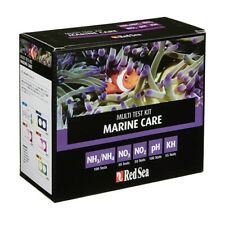 Red Sea Marine Care Test Kit. Ammonia, Nitrite, Nitrate, PH, KH