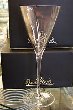 Rosenthal Triangle Crystal Stem Water Goblets - 2 glasses, new