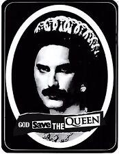 Freddie MERCURY gstq Adesivo Vinile iconica CORONA POP ROCK GLAM A6