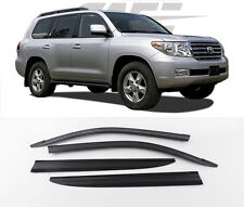 SAFE Smoke Tinted Weather shields for Aug/2007 ~ 2017 Toyota LANDCRUISER 200