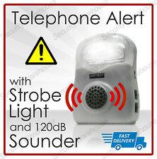 Appel téléphonique Clignotant Alerte amplificateur RINGER LOUD SPEAKER aide auditive lumière