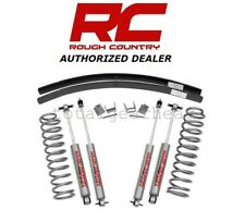 "1984-2001 Jeep XJ Cherokee 2WD/4WD 3"" Rough Country Suspension Lift Kit [670N2]"
