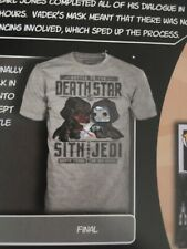 Star Wars Smugglers Bounty T-shirt Small Battle On The Death Star Darth Vader