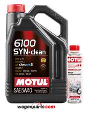 Aceite Motor Motul 6100 SYN-CLEAN 5W40 C3 DPF, Pack 5 Lts Engine Clean Limpio