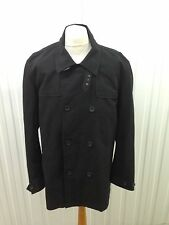 Mens French Connection Overcoat - Xl - Double Breasted - Great Condition