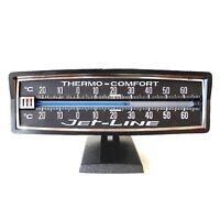 Original 1980 Auto KFZ Nostalgie Thermometer von RICHTER / HR Zusatzinstrument